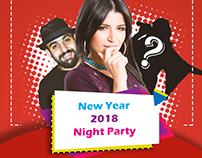 2018 night party ( social media design )