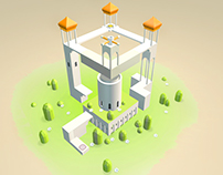 My Favorite Game----Monument( Imitation)