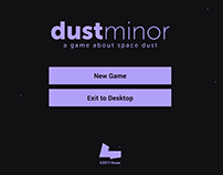 dustMinor - a game about space dust