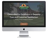 ForsterPM.com - Mobile Responsive Site Design