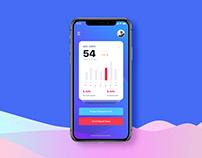 'Destern' Survey App - UX UI Design