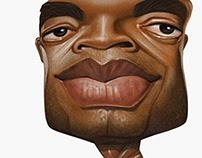 Caricature of Anderson Silva