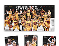 2017-18 Winthrop Basketball Print Collateral