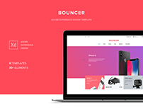 Bouncer Ecommerce UI Kit | Adobe XD