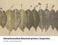Monochromatic Botanical Printing