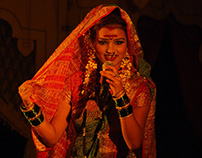 Photographing Lavani on stage in Mumbai - July 2008