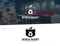 Bob&Mary Burger-Restaurant CI & WEB