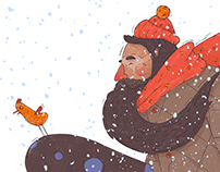 Bearded Snowman