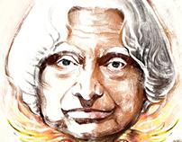 Art Tribute to Dr. A.P.J. Abdul Kalam Sir.