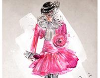 Fashion illustrations - Marc Jacobs S19