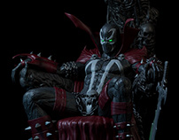 Spawn throne