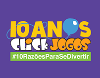 10 ANOS Click Jogos