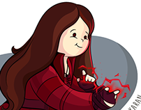 Scarlet Witch (Marvel Cinematic Universe MCU)