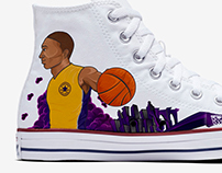Converse Shoe Art