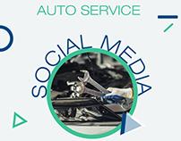 AUTO SERVICE - SOCIAL MEDIA