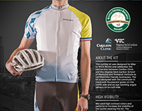Carilion Clinic & VTC Cycling Kit