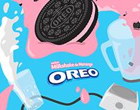 Oreo Milkshake Morango