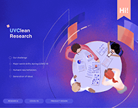 UVClean Research | faucet equipped with UVC-light case