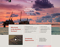 Web design for the NT Gov Investment department