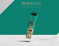 packaging polycos shampooings et masque pour cheveux