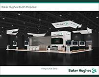 Baker Hughes Booth 12m L x 18m W x 4.95m H