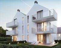 Minimalist residential building