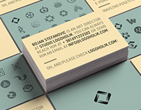 Logoholik business cards 2017