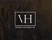 VH logo | branding