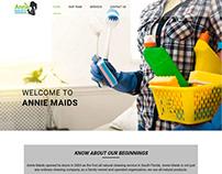 Website - Annie Maids