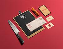Bab El-hara I BBQ Restaurant Re-brand Identity