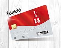 Eblast Tarjeta de Crédito LA 14