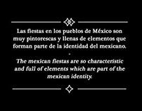 Elementos de fiestas mexicanas.