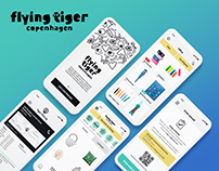 New E-Commerce App for Flying Tiger Copenhagen