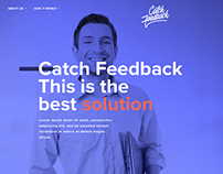 Catch Feedback - Branding and Website