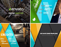 Clean Broadcast Package // Videohive