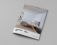 A4 - Interior Design Brochure Catalog