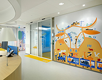 illustrations for Oncology Emma Children's Hospital
