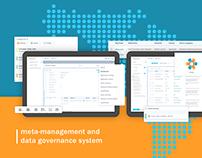 Metacenter - Data Governance System