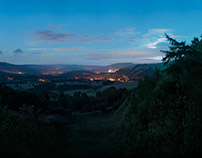 Hope Valley at Night  /