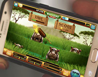 Safari slot game - Bonus game