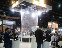 AMT Stand at CABSAT 2015