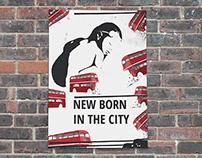 New born - in the city