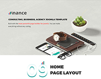 Finance - Consulting, Business, Agency Joomla Template