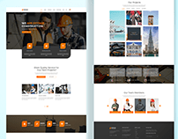 Industrial Web Page