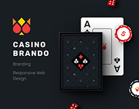 Casino Brando - Website design and development