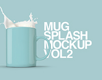 Mug Splash Mockup Vol.2