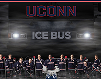 UConn Hockey Poster