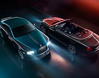 Rolls-Royce Adamas Collection Black Badge Dawn & Wraith