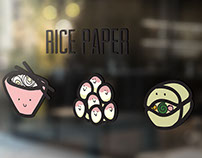 Food Illustrations for Vietnamese Eatery