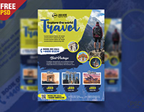 Holiday Packages Flyer PSD Template